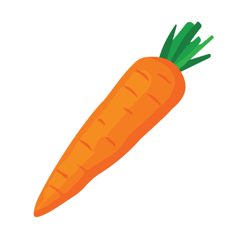 Carrot, Cost-effective health foods